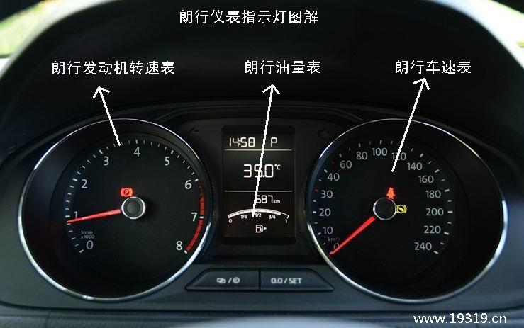 大众汽车仪表盘图标_朗行仪表盘指示灯图解-大众朗行仪表盘图解-汽车仪表网