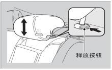 思铂睿改变后排座椅头枕位置