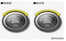 名图自动空调温度控制