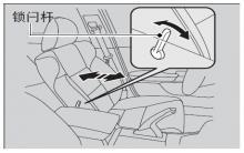 思铂睿调节驾驶员座椅腰部支撑