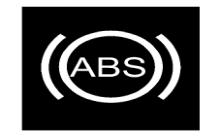 东风天龙主车ABS故障指示灯