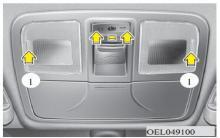 现代ix35室内灯使用说明