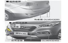 现代ix35驻车辅助系统图解