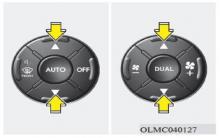现代ix35自动空调温度控制