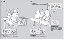 艾力绅调节第二排和第三排座椅方法