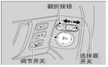 思铂睿电动车门后视镜使用说明