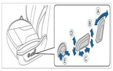 哈弗h6电动座椅调整操作