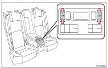 皇冠后排电动座椅图解