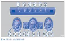 途观自动空调空气内循环模式