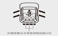 艾力绅后排座椅安全带使用情况监控器