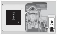 冠道ECON(节能辅助系统)按钮