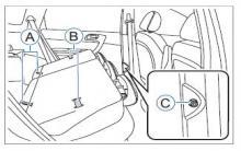 哈弗h6后排座椅折叠方法