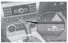 奔驰C级防盗警报系统(ATA)