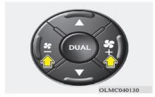 现代ix35自动空调鼓风机速度控制