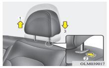 现代ix35后座椅调节图解