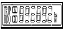 比亚迪e6里程表、双短距离里程表