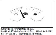 别克gl8燃油表图解