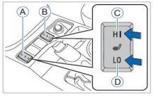 哈弗h6前排座椅加热功能