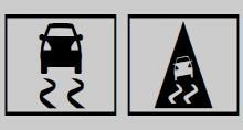 奔驰C级黄色ESP® 警告灯