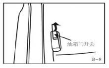 中华v3油箱盖按钮-中华v3油箱盖怎么打开